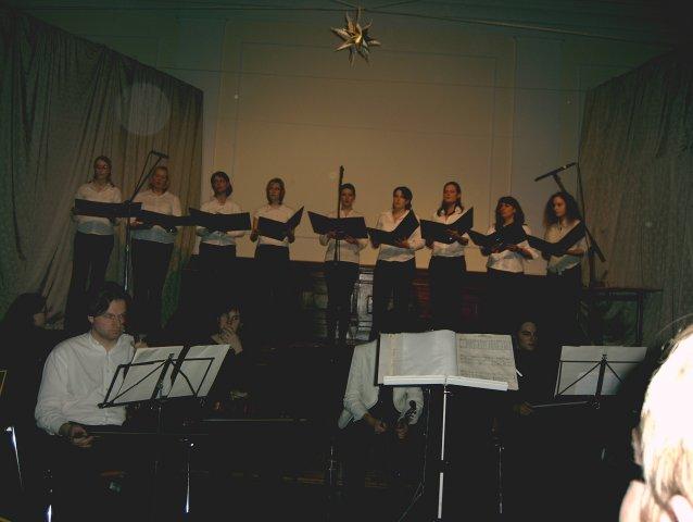 2006 - Erstes Weihnachtskonzert in der Helmholz-Aula