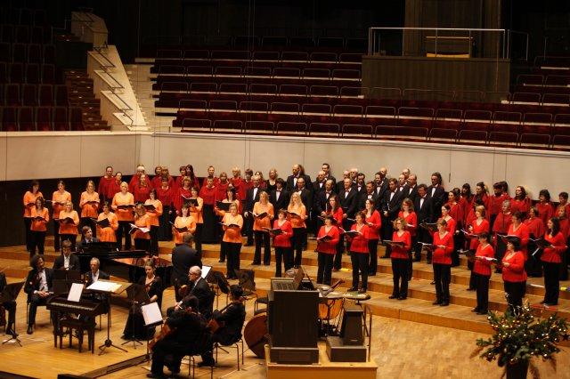 2012 - Weihnachtskonzert im Gewandhaus zu Leipzig